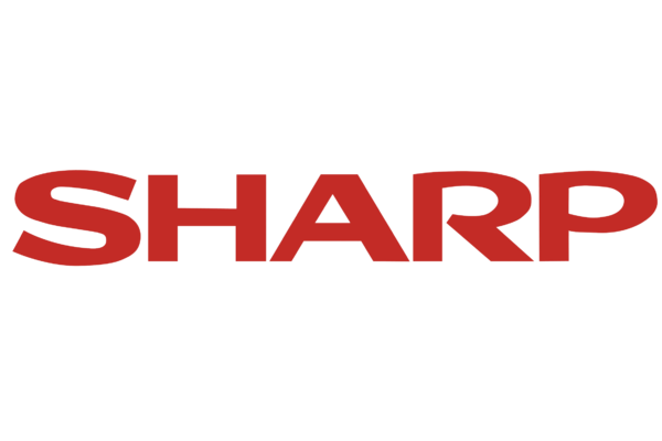 Brand logo sharp