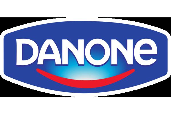 Brand logo danone